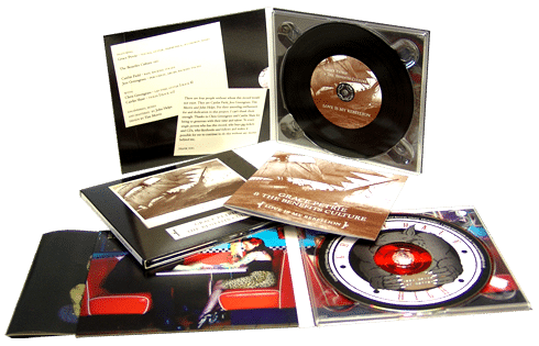 CDs in digipaks with booklet