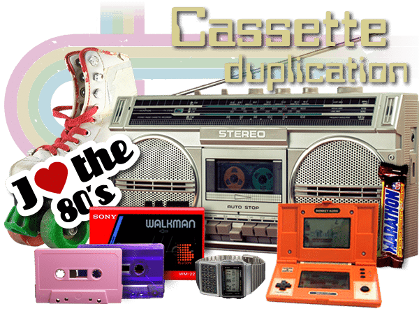 Cassette tape duplication and production