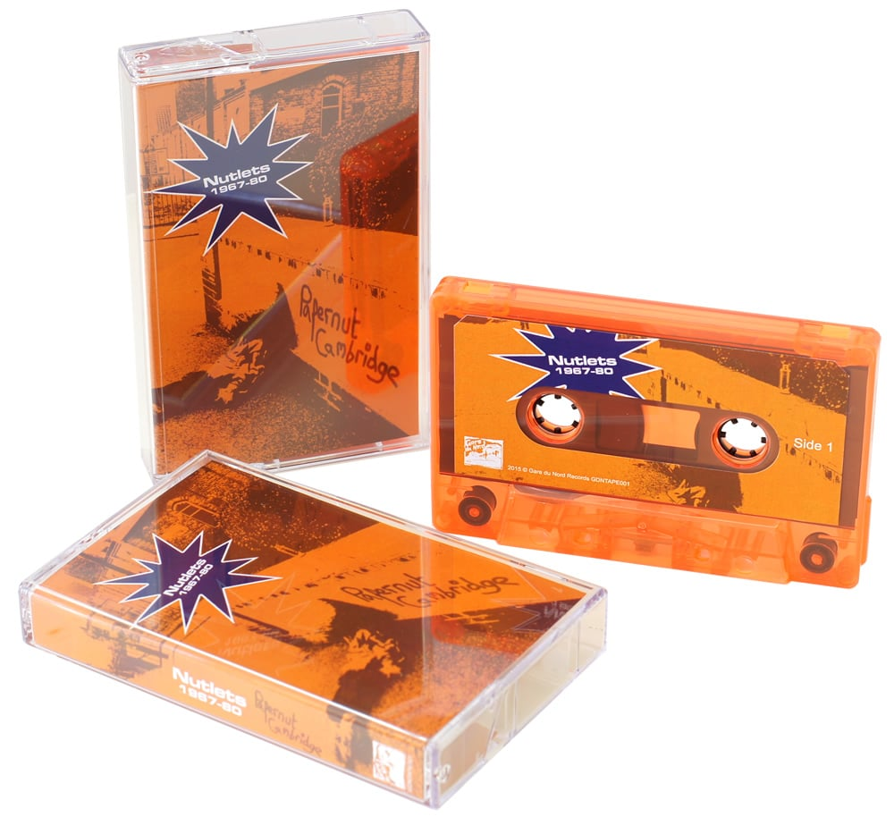 Transparent orange cassettes for Papernut Cambridge