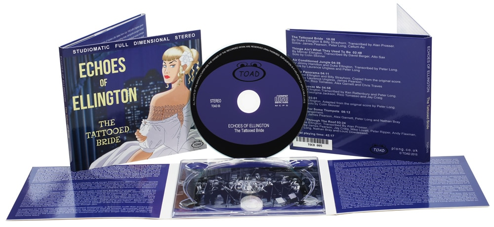 6 page digipaks with a central CD tray, silk screen printed discs and a gloss laminate on the digipaks