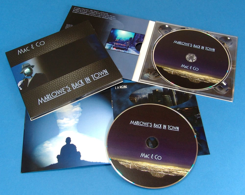 Mac & Co matt laminated digipak