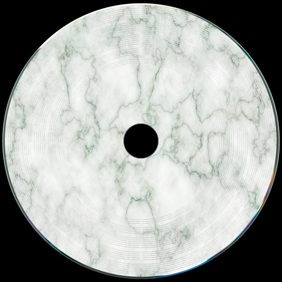 Light Green Marble : Custom printed vinyl cds and dvds band