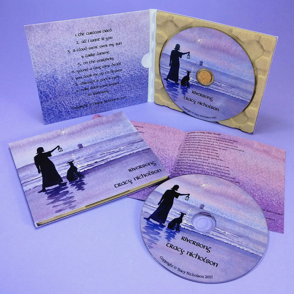 recycled eco CD digipaks with recycled booklets