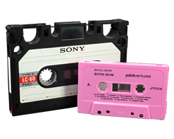Elcaset Analogue Cassette Tape Duplication