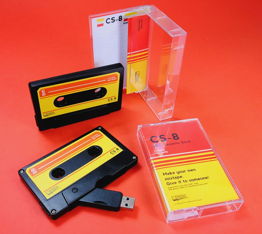 Make your own mixtape USB cassette drives