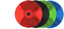 Coloured base CDs